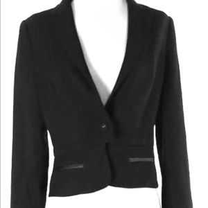 Aryn K Chic Business Black Blazer Size Medium